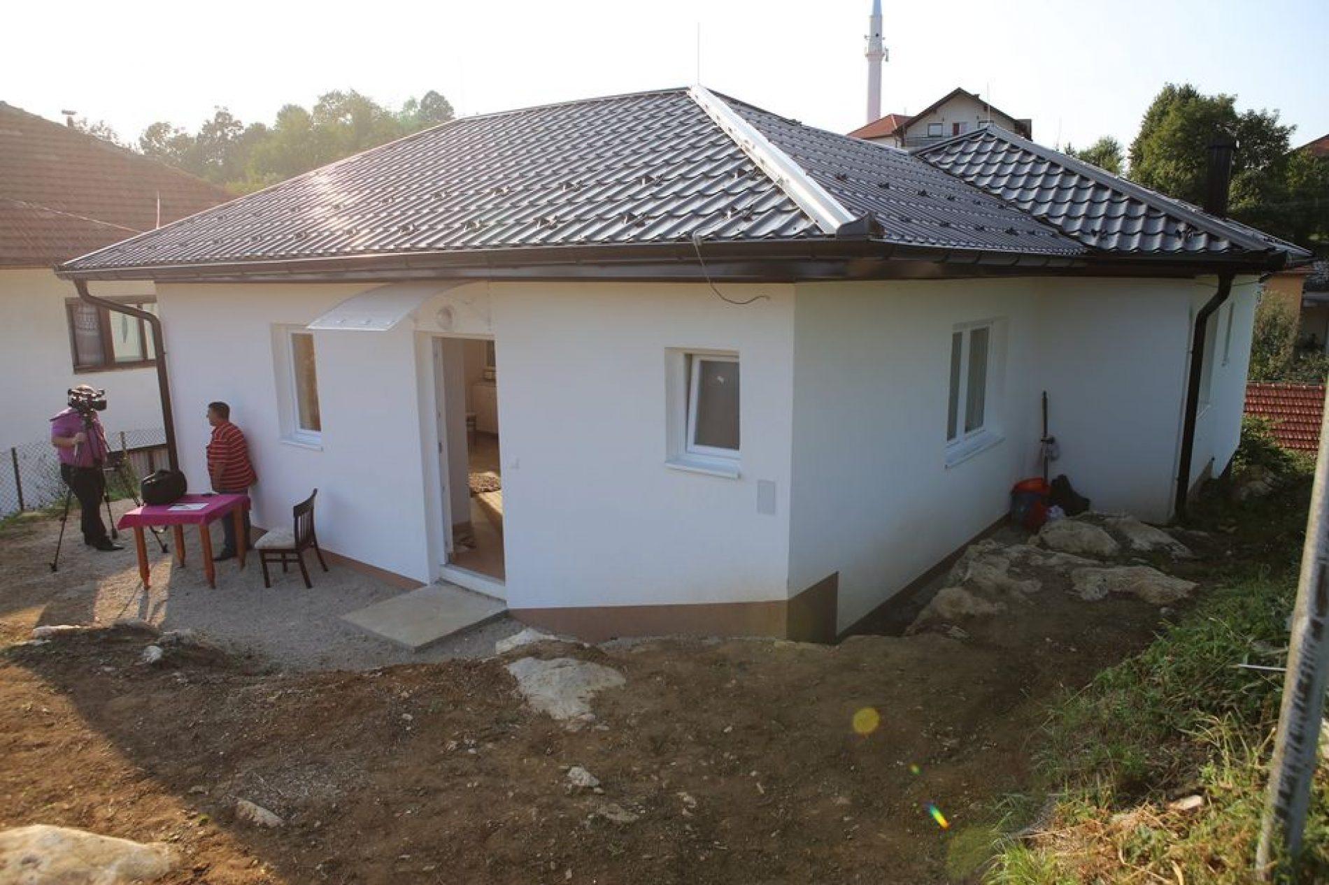 Novi dom za Nenada Lozančića, demobilisanog borca iz Tešnja