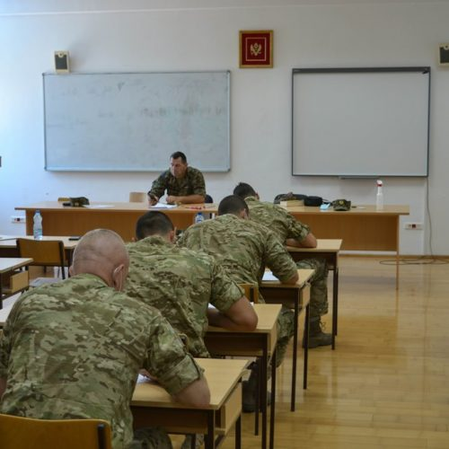 Tim Oružanih snaga Bosne i Hercegovine testirao Vojsku Crne Gore