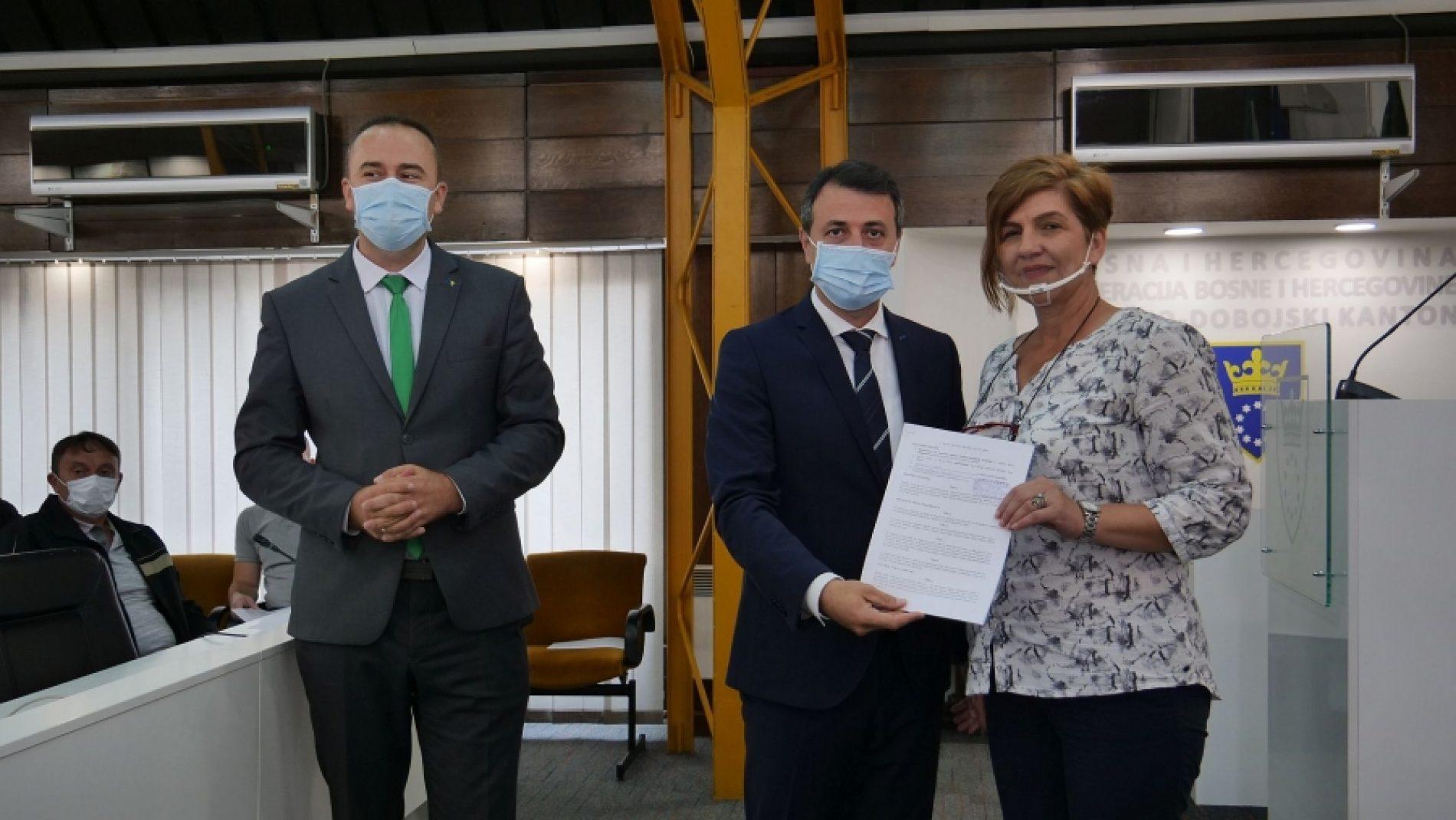 ZDK Potpisani ugovori o zapošljavanju 23 demobilisana borca