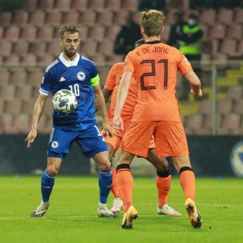 Bajević: Ova zemlja ima odlične igrače. De Boer – Bosna je poštovana u svijetu fudbala