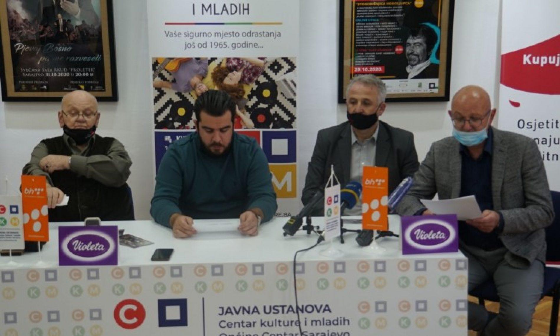 Centar kulture i mladih programe posvetio sjećanju na Zuku Džumhura i Safeta Isovića