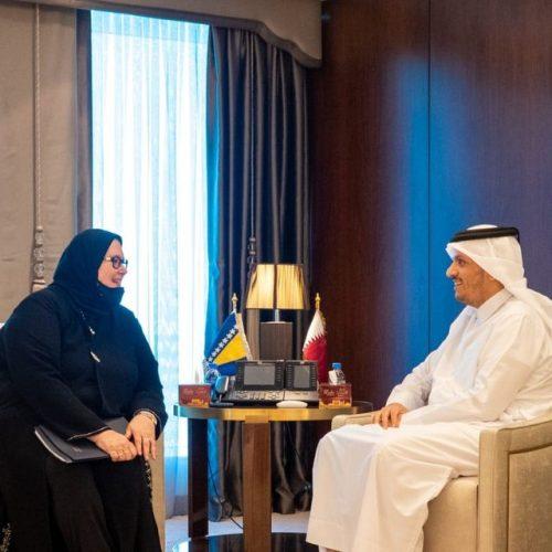 Ministrica vanjskih poslova u Dohi