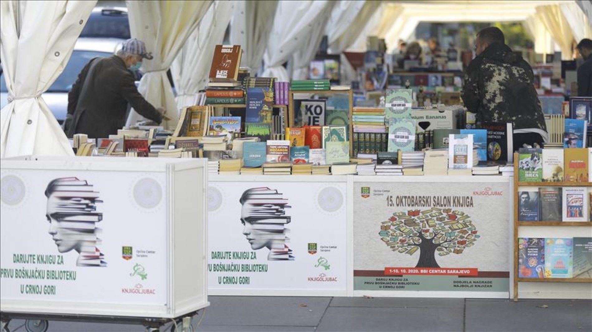 Sarajevo: Akcija prikupljanja knjiga za prvu bošnjačku biblioteku u Crnoj Gori
