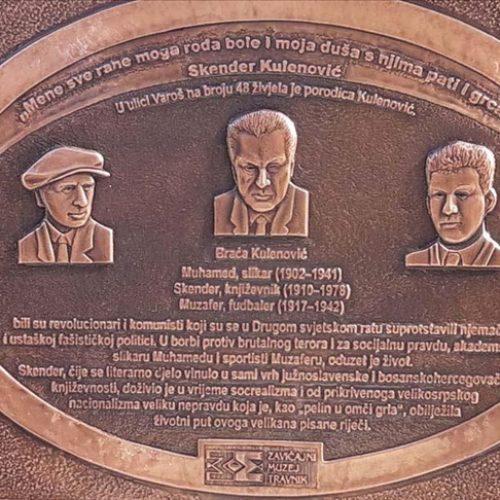Projekat Zavičajnog muzeja Travnik: Umjetnost i sport protiv totalitarizama – Braća Kulenović u borbi protiv fašizma