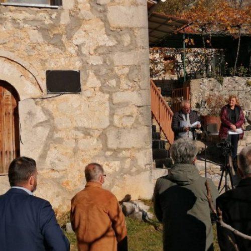 U Bitunji kod Stoca otkrivena spomen ploča u rodnoj kući Alije Isakovića