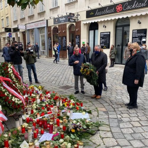 Ministrica Turković u Beču položila cvijeće i odala počast žrtvama terorističkog napada