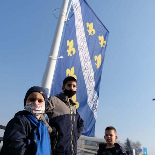 "Otvoren historijski park ""Bosanski stećak i zastava"""