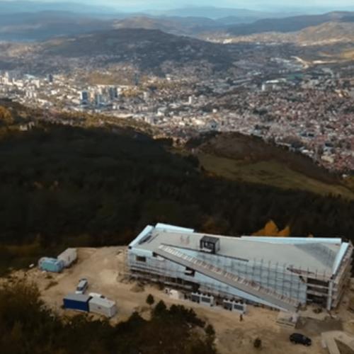 Vidikovac na Trebeviću (Video)