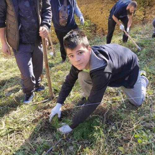 Vogošćani zasadili 400 sadnica