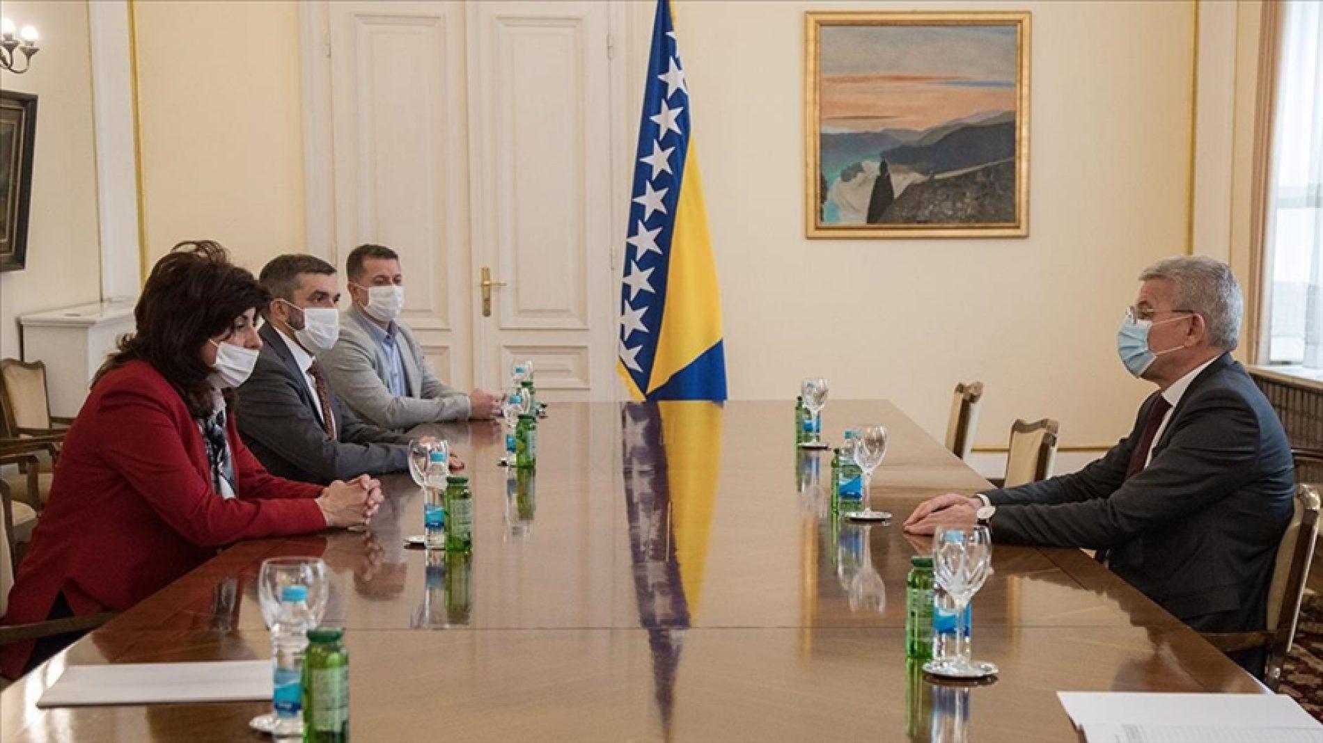 Džaferović razgovarao s delegacijom Bošnjačkog nacionalnog vijeća Sandžaka