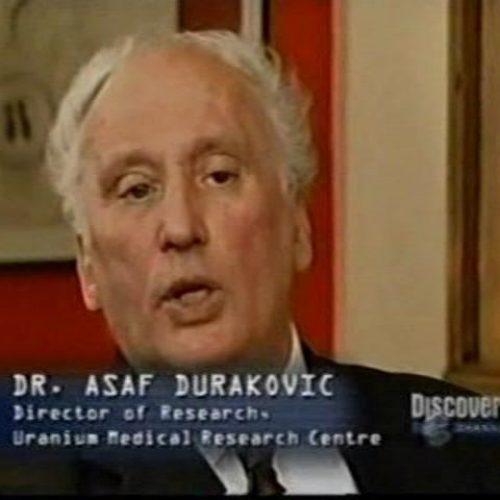 U SAD-u preminuo dr. Asaf Duraković, jedan od najvećih stručnjaka za osiromašeni uranij