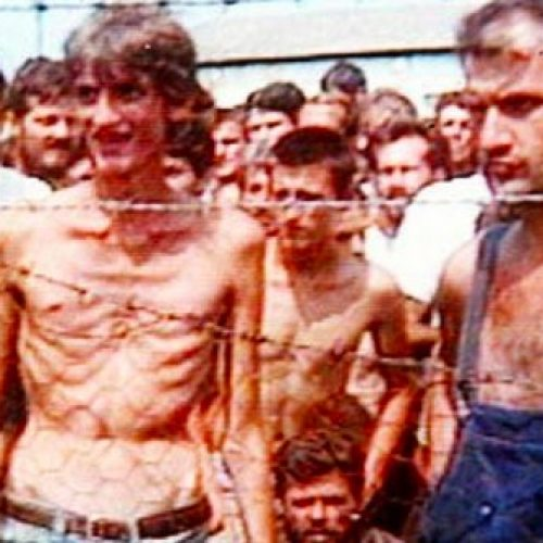 Optužnica za ubistvo  zatvorenika iz logora Omarska i civila