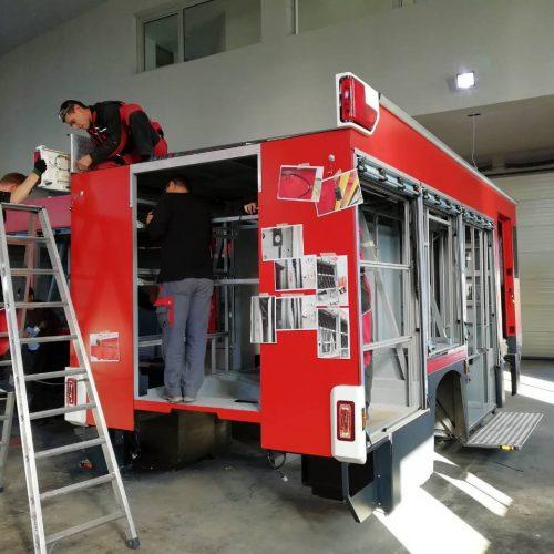 Vatrogasci Srebrenika uskoro će dobiti vatrogasno vozilo proizvedeno u Bosni i Hercegovini