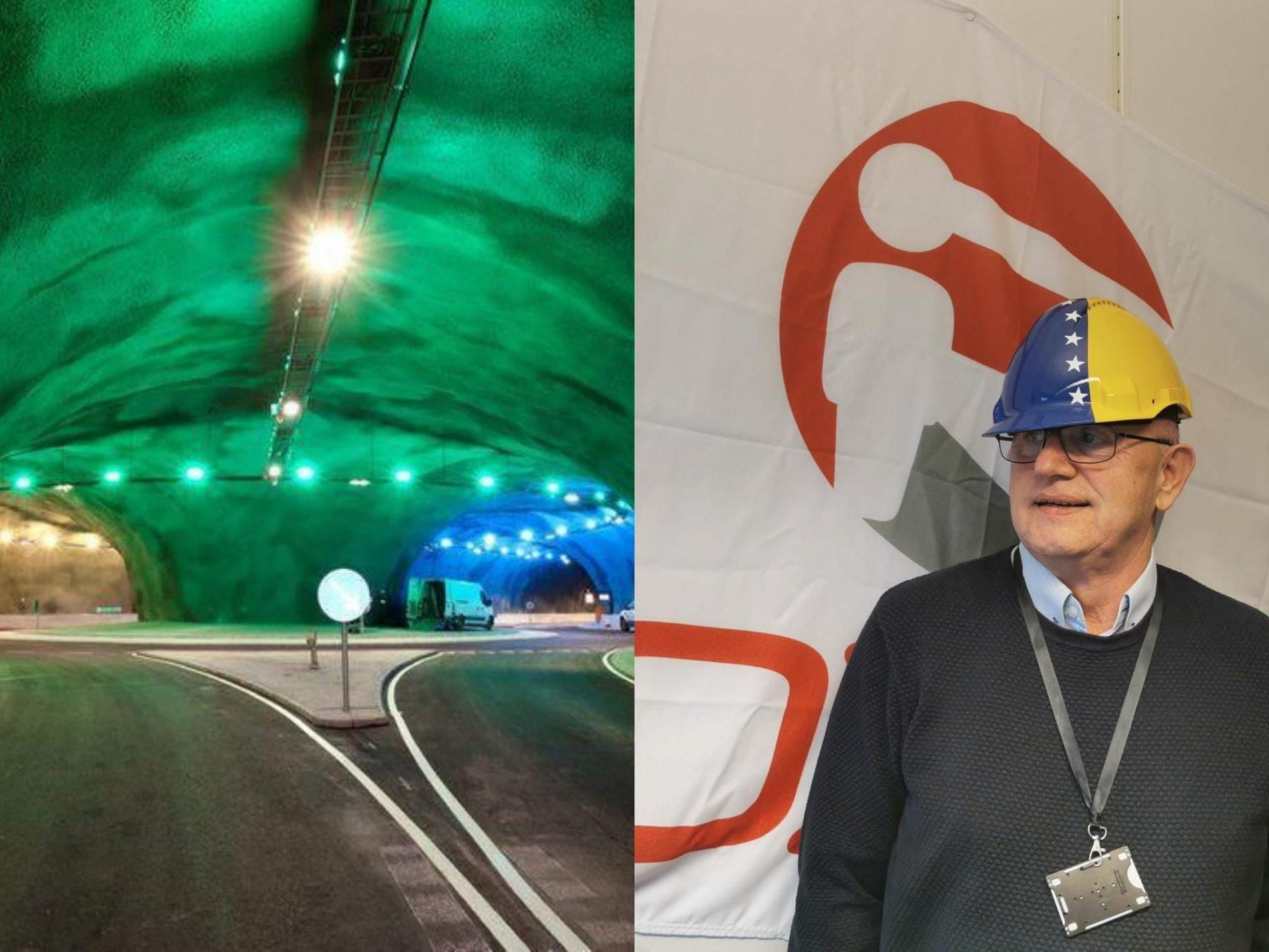 Na čudesnom tunelu pod morem radio je i Bosanac, inž. Senad Biščević
