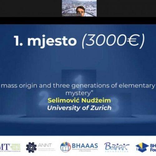Organizovano takmičenje i dodijeljene nagrade za najbolje bosanske studente doktorskih studija