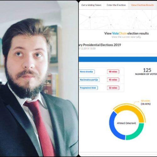 Student iz Sarajeva osmislio sistem za online glasanje na izborima