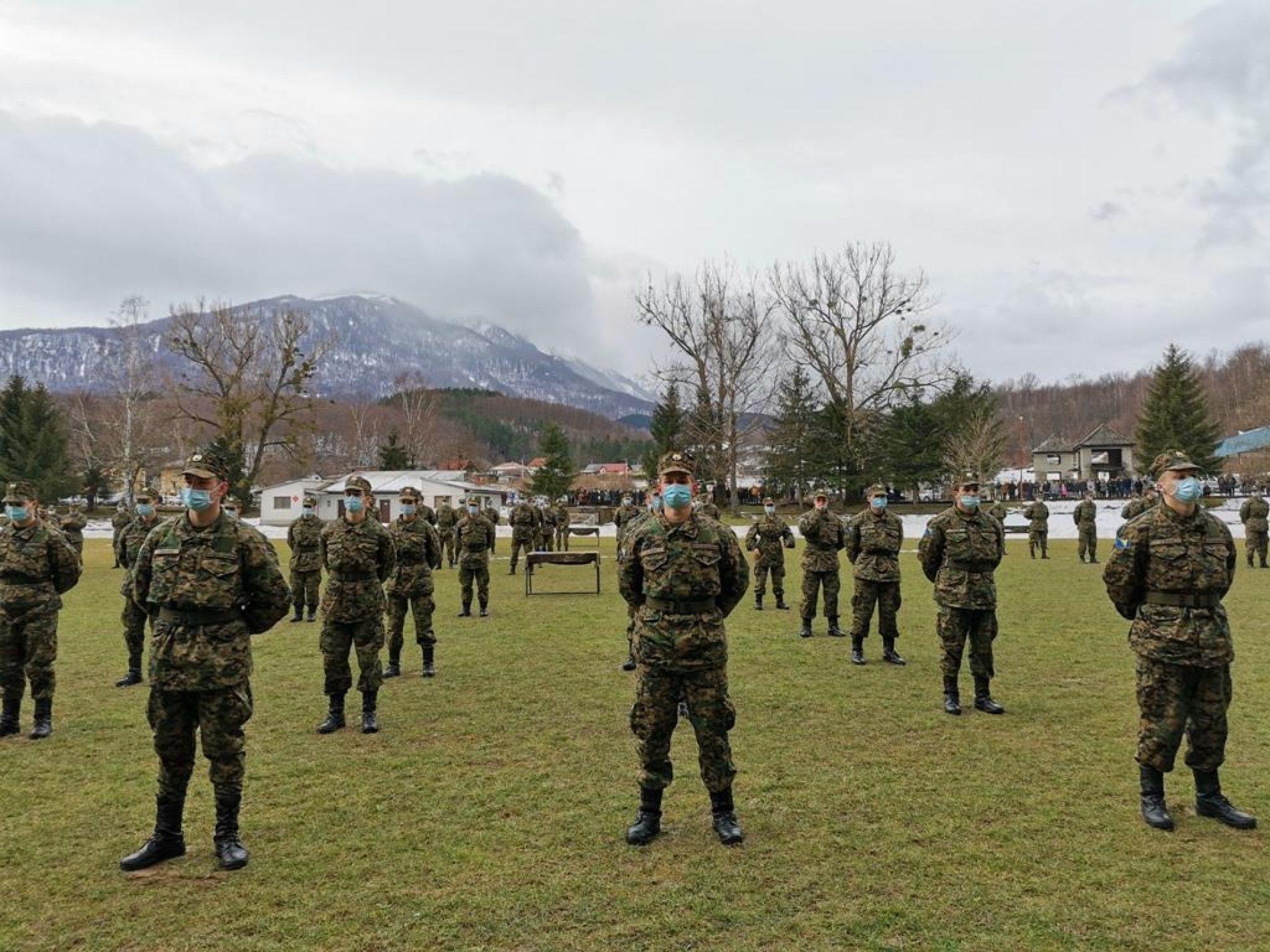 Svečana promocija 24. klase vojnika OS Bosne i Hercegovine