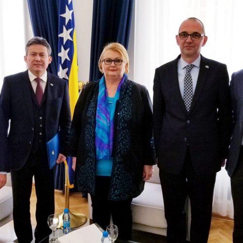 Ministrica Turković s delegacijom Kazahstana o mogućnostima pokretanja fabrike u Jajcu