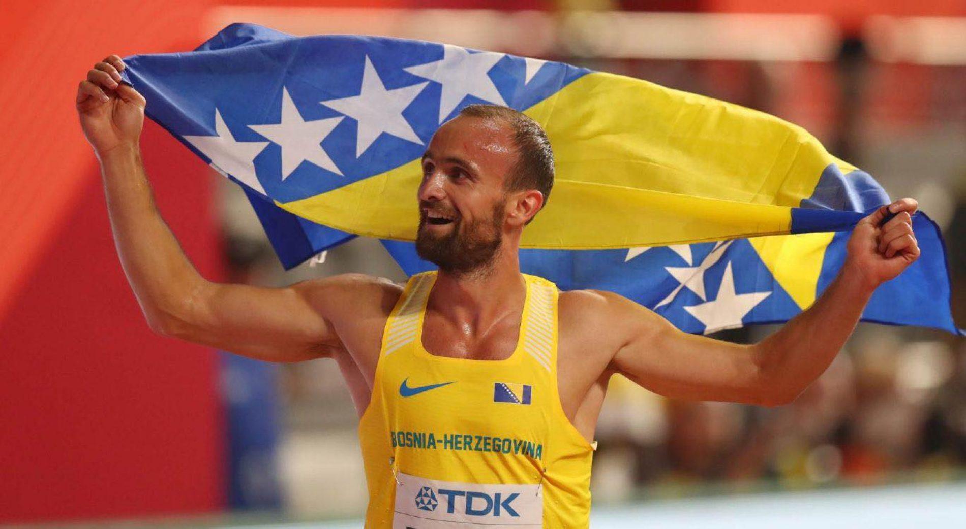 Amel Tuka drugi u Madridu, postavio novi državni dvoranski rekord (Video)