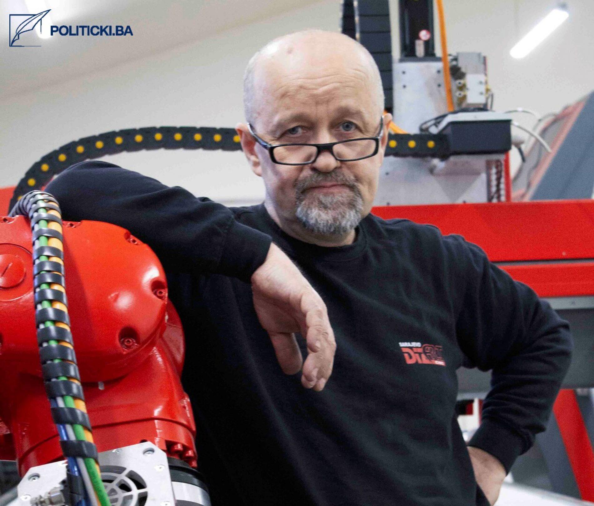 Do kraja godine planirana proizvodnja prvog bosanskog robota koji će potpuno biti proizveden u našoj zemlji