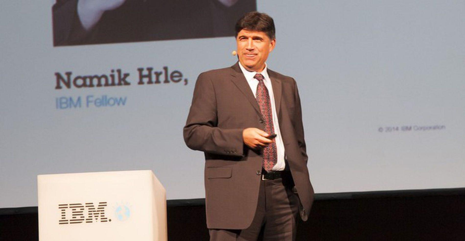 Namik Hrle, šef odjela tehnologija i umjetne inteligencije u IBM-u