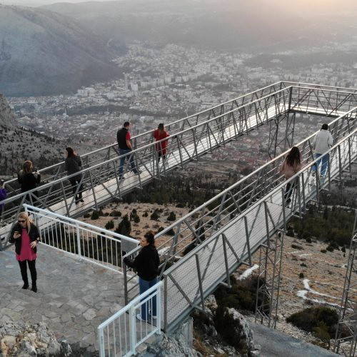 Nova turistička atrakcija u Mostaru: S Fortice nestvarni prizori zalaska sunca