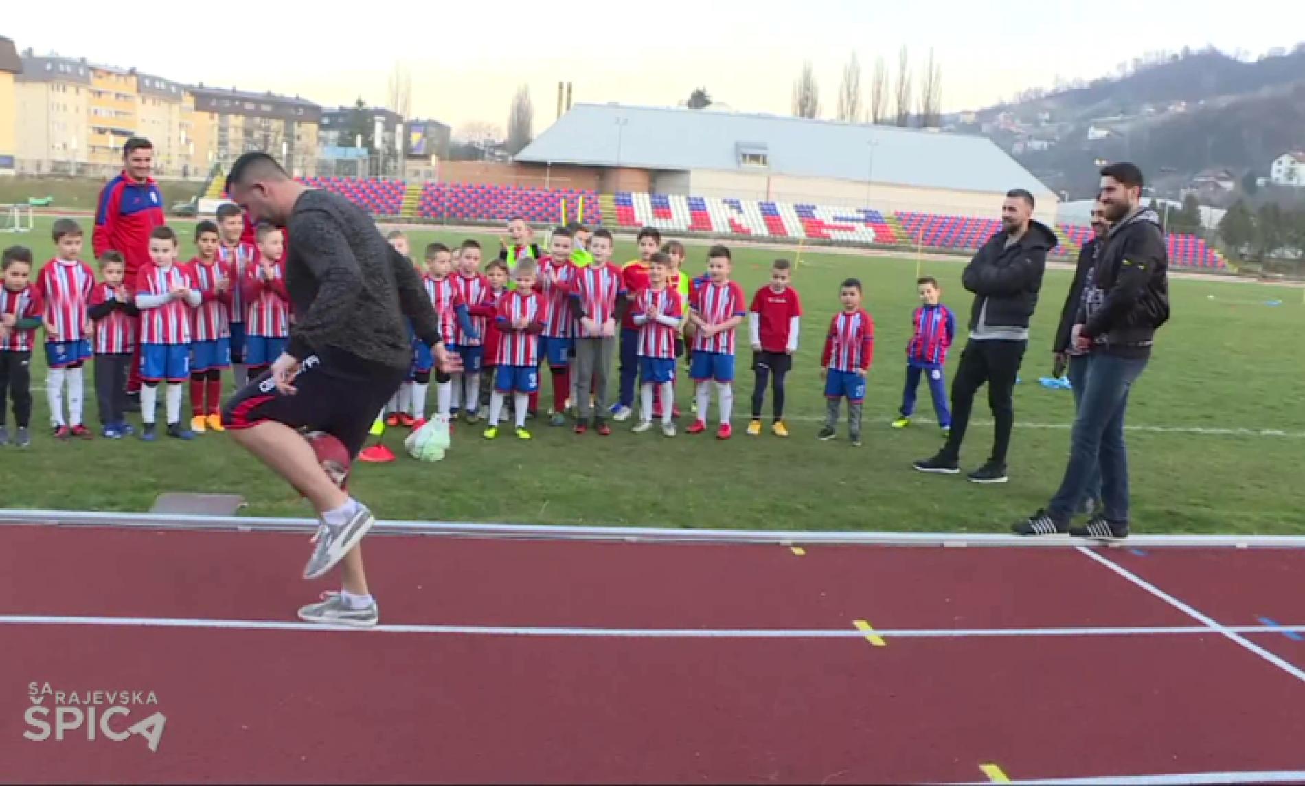 Ibišević i Zukanović družili se s mladim fudbalerima u Vogošći