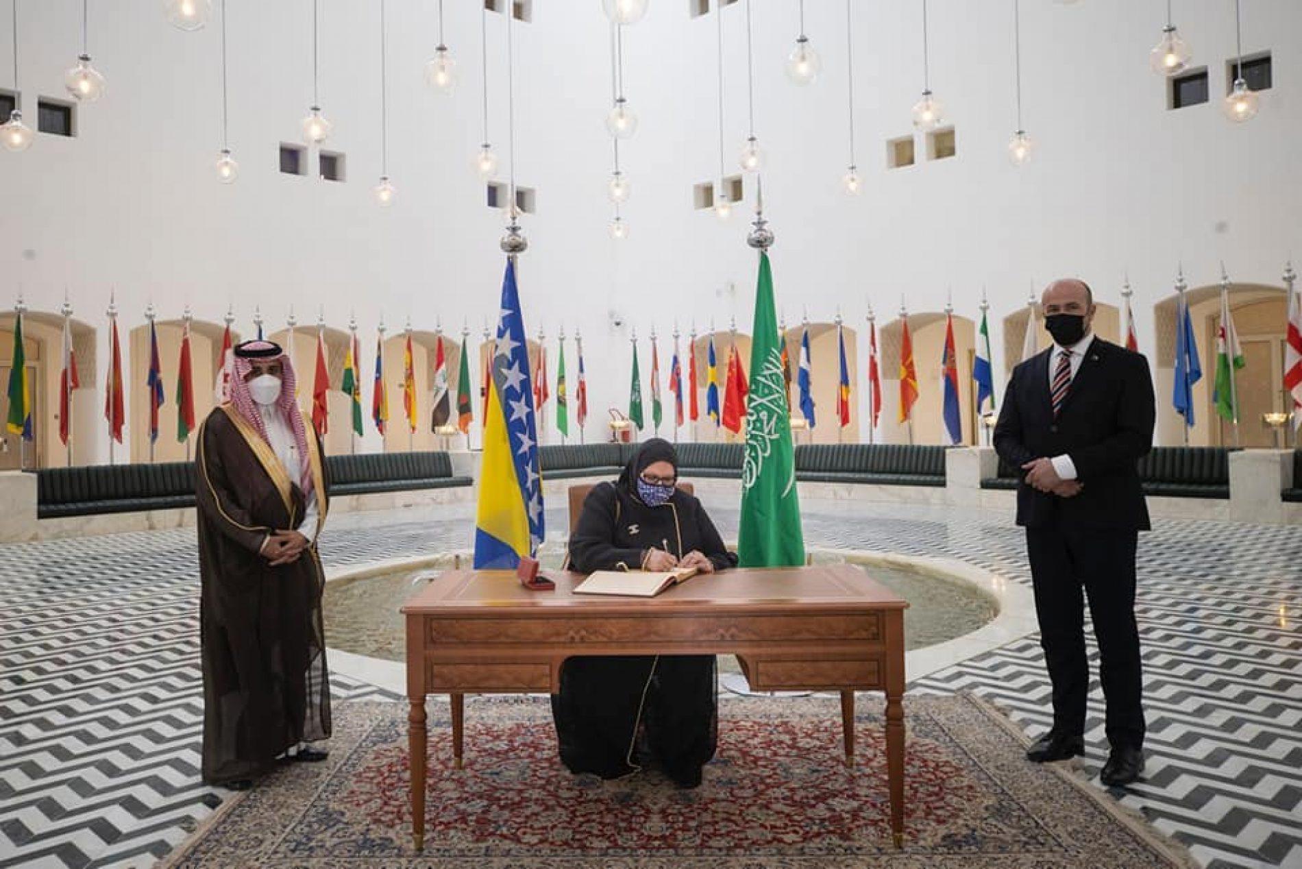 Susret bosanske ministrice i saudijskog princa: Razgovaralo se i o nabavci vakcina