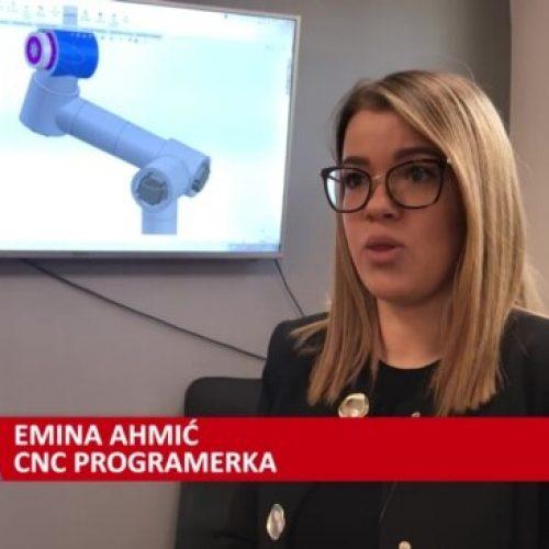 Mlada Sarajka radi na proizvodnji robota (Video)