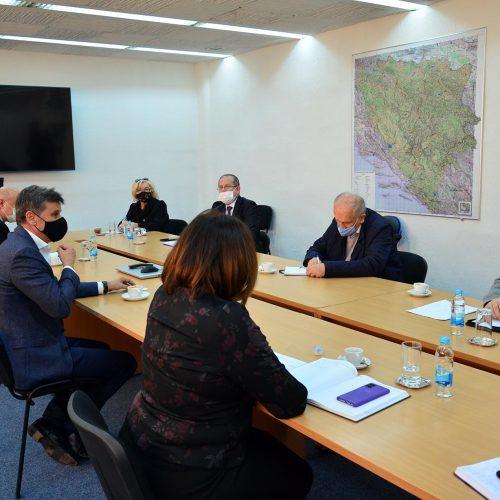 Sastanak u Vladi FBiH: Istaknut partnerski odnos Novalićeve vlade i predstavnika penzionera