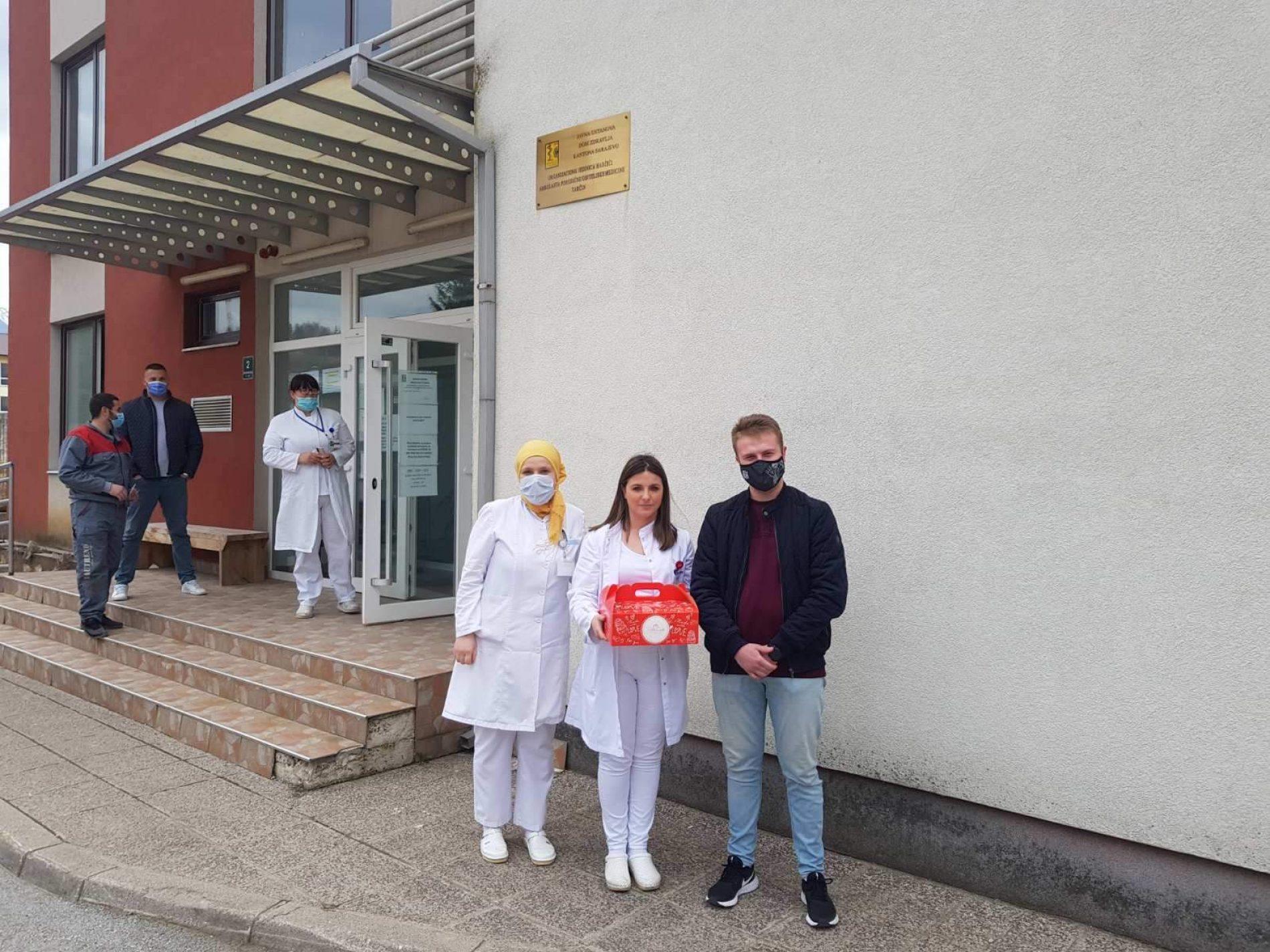 Mreža mladih Hadžići: Podrška zdravstvenim radnicima