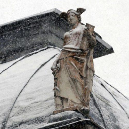 Aprilski snijeg u Bosni i Hercegovini (Foto)