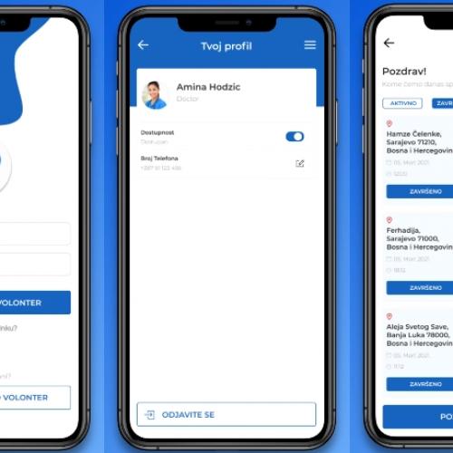 Mladi u našoj državi napravili aplikaciju za brže pružanje hitne pomoći