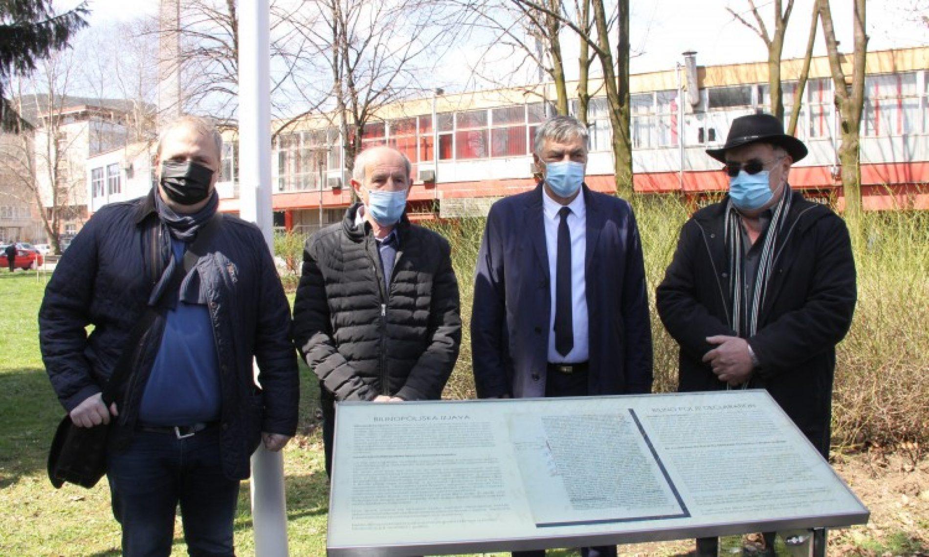 Zenica: Replika Bilinopoljske izjave obogatila park Kulina bana