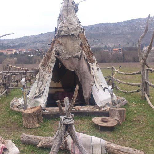 Tihomir na svom ranču u Trebižatu oživio duh Divljeg zapada