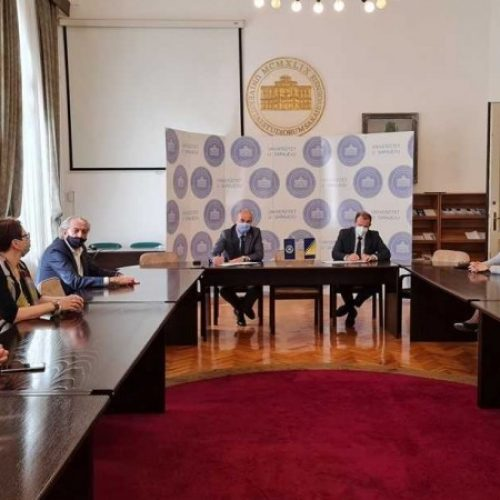 Ozvaničena saradnja Univerziteta u Sarajevu i Memorijalnog centra Srebrenica