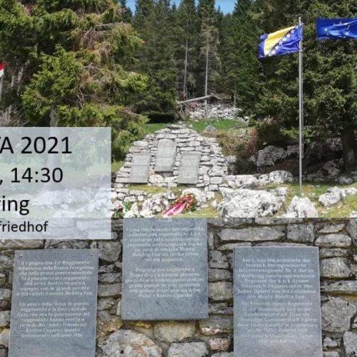 105. godišnjica bitke na Monte Meletta-Fior