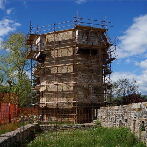 Novi Pazar: Počeli radovi na sanaciji Kule motrilje, jednog od simbola grada