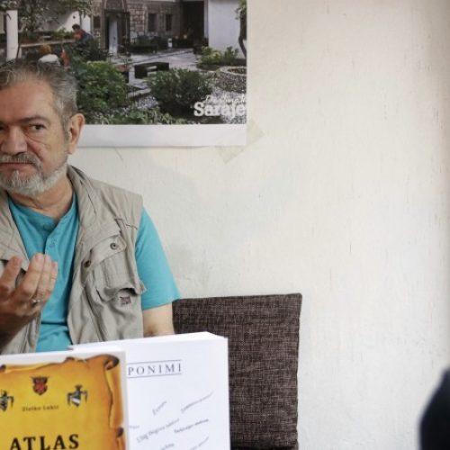 Knjige Zlatka Lukića 'Atlas rodoslovnih karata Bosne i Hercegovine' i 'Eponimi'