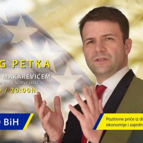 Ambasador Makarević pokrenuo video serijal o saradnji Bosne i Hercegovine i dijaspore