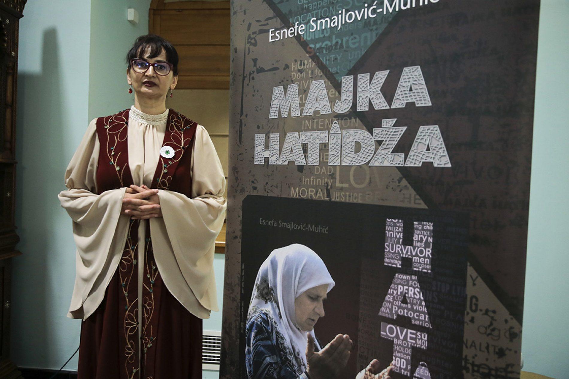 """U Sarajevu održana promocija knjige """"Majka Hatidža"""", autorice Esnefe Smajlović-Muhić"""
