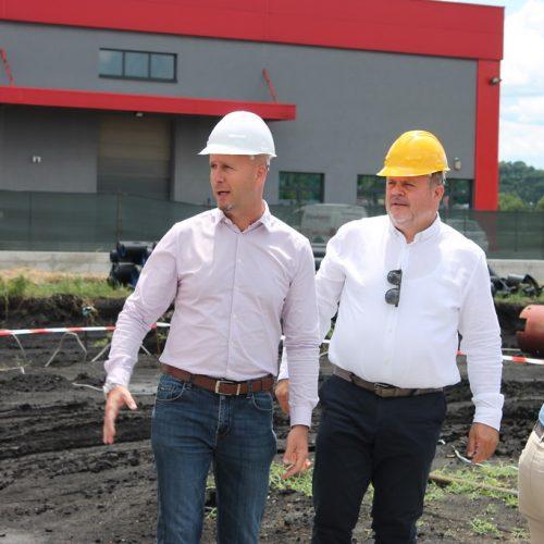 Lukavac: Postavljen kamen temeljac za izgradnju nove fabrike
