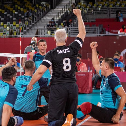 Pobjeda bosanskih odbojkaša za plasman u polufinale Paraolimpijskog turnira