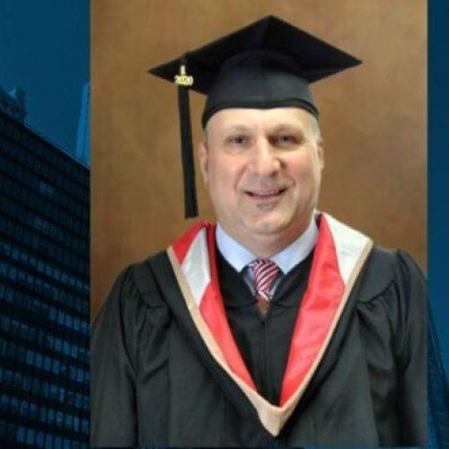Eldin Elezović magistar generacije na 'City University of New York'