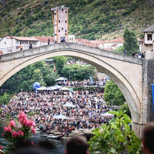 Rhiannan Iffland i Gary Hunt su pobjednici Red Bull Cliff Divinga u Mostaru (Foto)