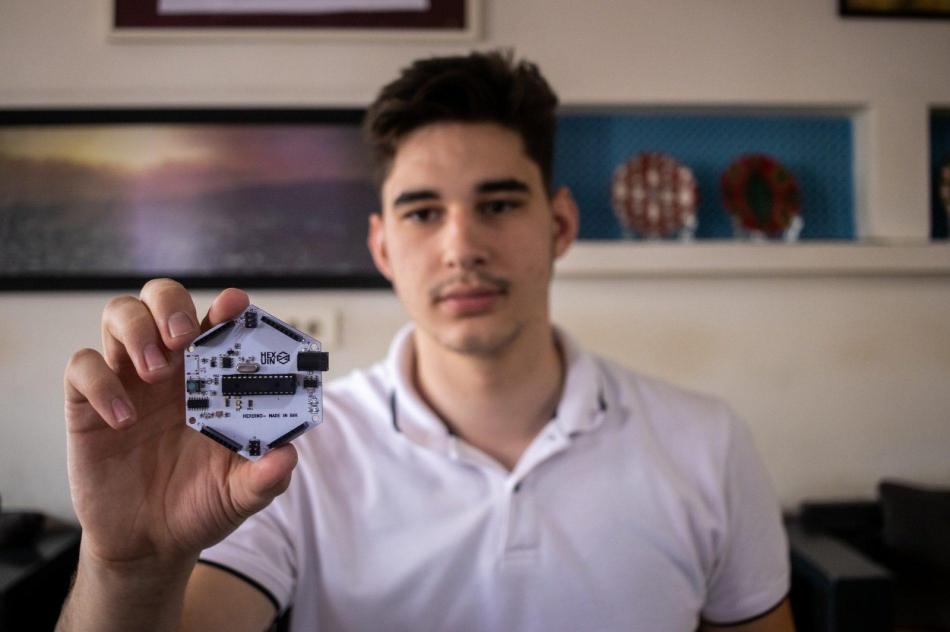 Harun Osmanović izradio prvi bosanski mikrokontroler, uskoro i platforma za hardverski inženjering