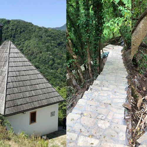 Brže i lakše do Kušlat džamije, kameno stepenište na 450 dužnih metara