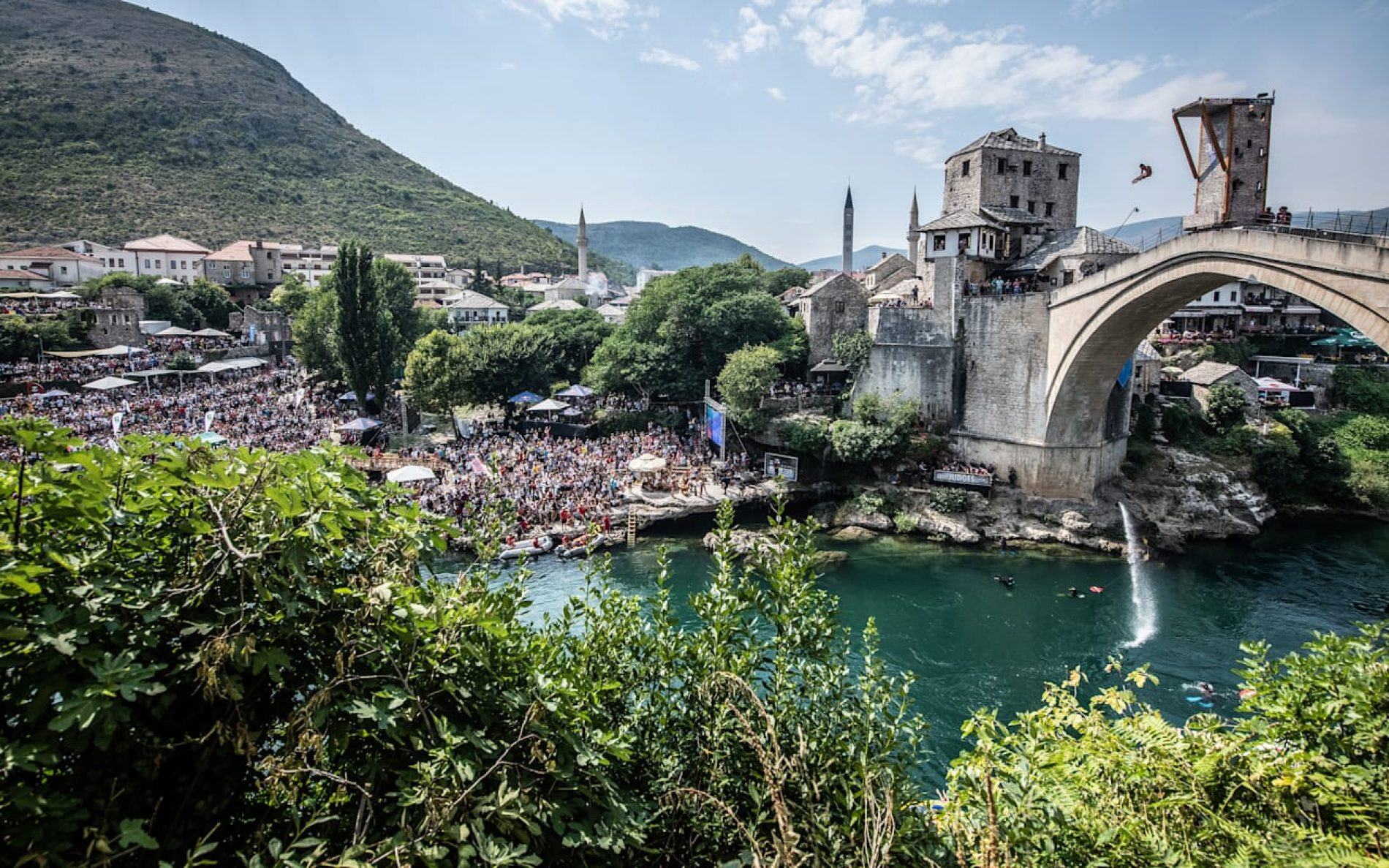 Red Bull Cliff Diving Svjetsko prvenstvo 28. augusta u Mostaru