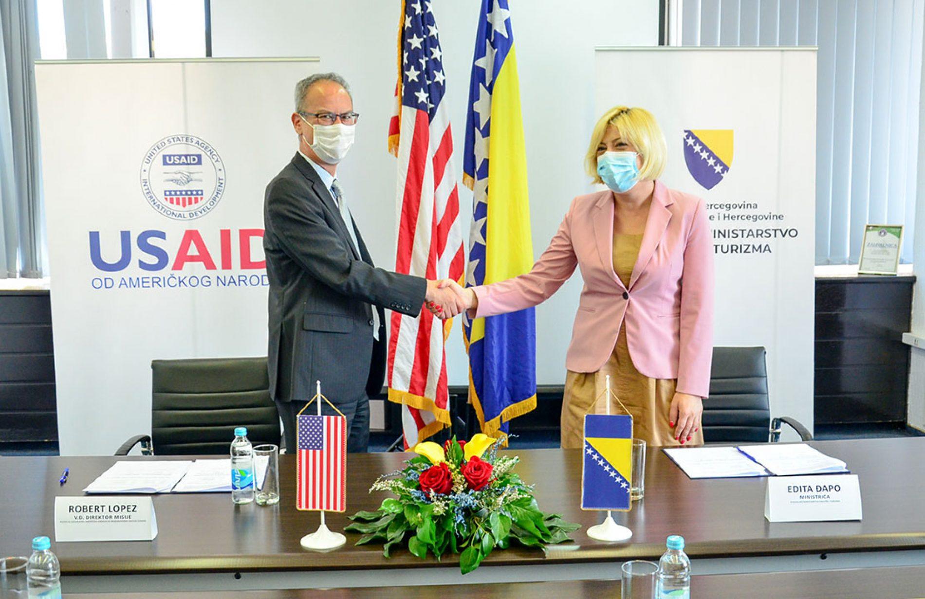 SAD će pomoći razvoj bosanskog turizma u narednim godinama