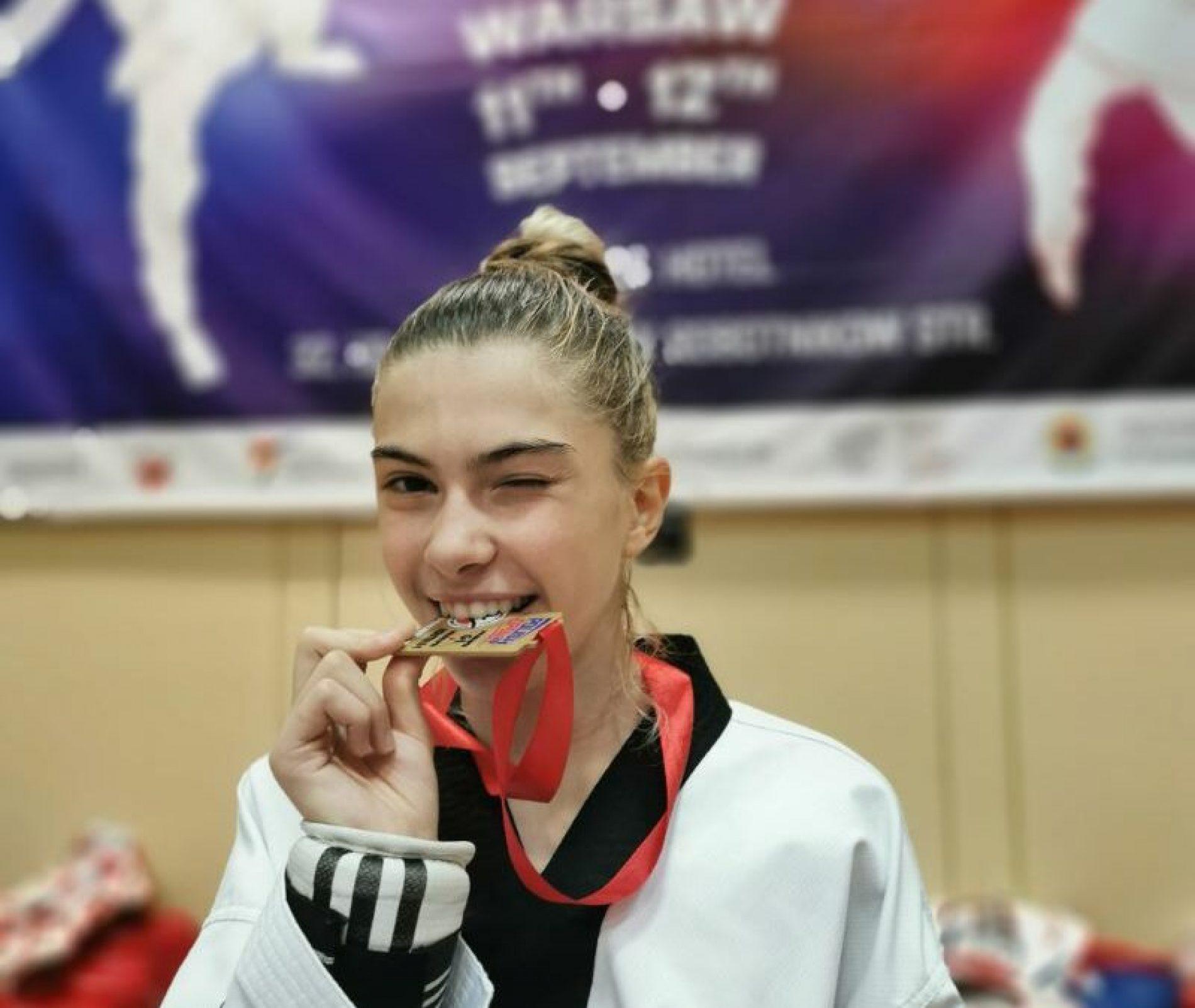 Ada Avdagić osvojila zlatnu medalju na tekvondo turniru u Varšavi